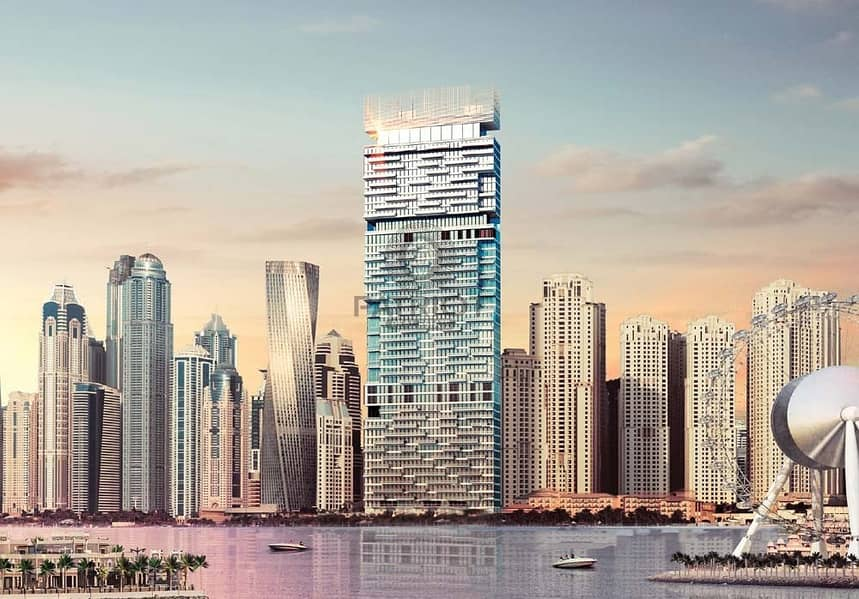 Iconic Beachfront Living | Luxury 2 Bedroom in 1JBR   With Payment plan