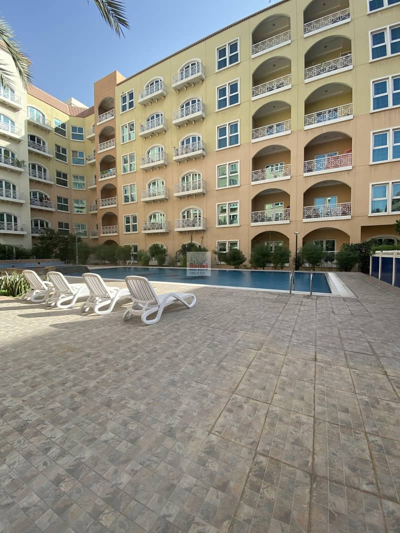17 Well maintained specious 2br+maids available for rent in DIP2 just for AED 58k