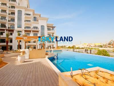 1 Bedroom Flat for Rent in Yas Island, Abu Dhabi - 4 Payments ! Vacant - Luxury 1BR w/ Sea View
