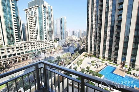 2 Bedroom Apartment for Sale in Downtown Dubai, Dubai - Two Bed | Vacant | Fountain and BLVD view