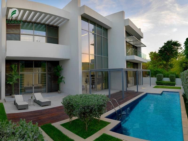 Large Corner Plot Brand New Contemporary 5BR Villa