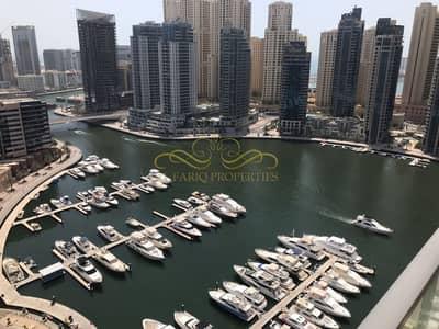 2 Bedroom Flat for Sale in Dubai Marina, Dubai - MARINA VIEW | 2 BED + STUDY | FURNISHED | HIGHER FLOOR