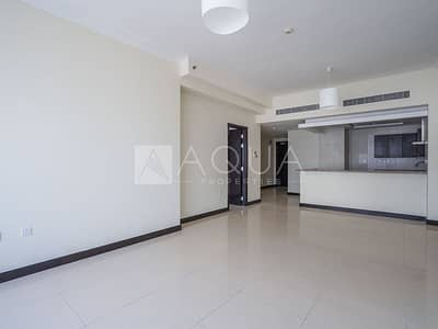 1 Bedroom Flat for Rent in Jumeirah Lake Towers (JLT), Dubai - Spacious Master Bedroom with Beautiful view
