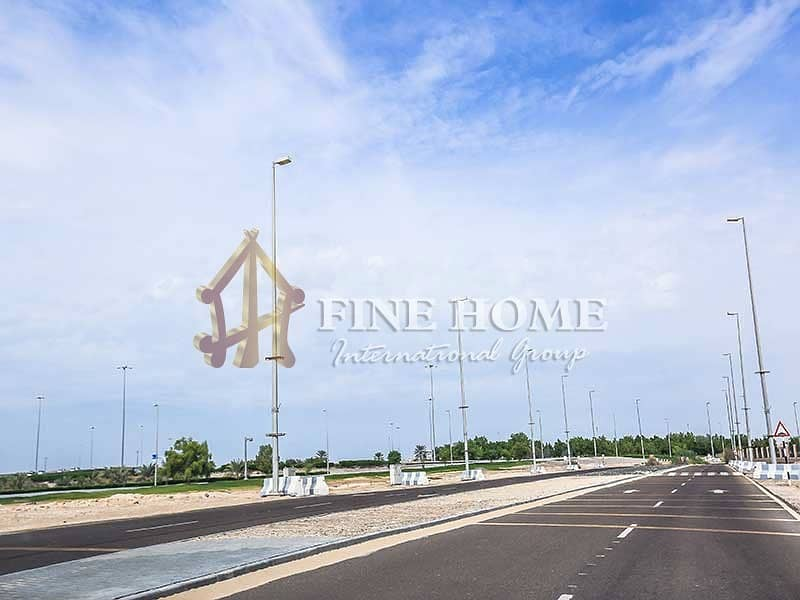 2 Perfect commercial land in madinat Zayed