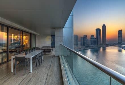 شقة 5 غرف نوم للبيع في الخليج التجاري، دبي - Resale. Never used.Best simplex in Dubai