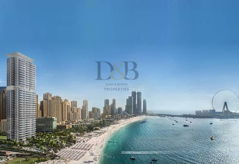 2 Luxury Waterfront Apartment | New Project in JBR