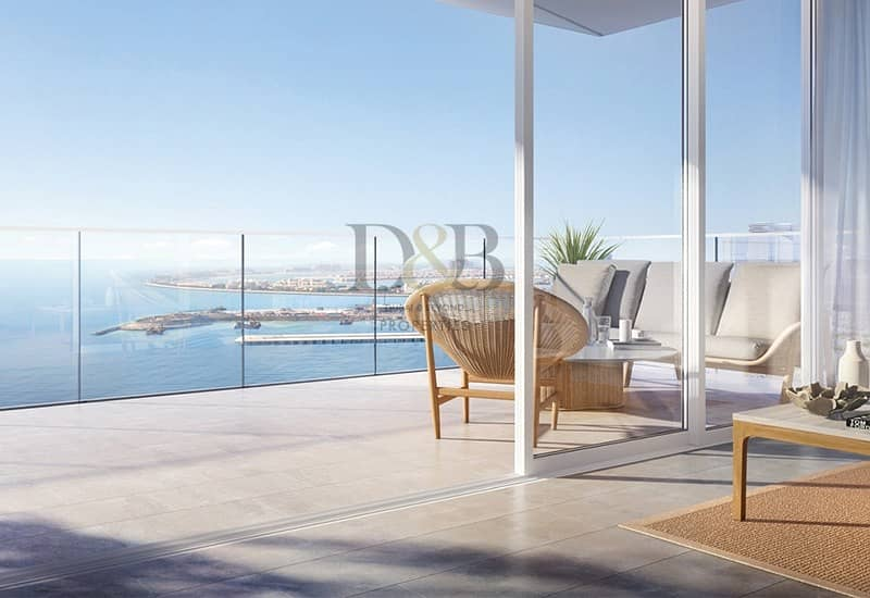 15 Luxury Waterfront Apartment | New Project in JBR