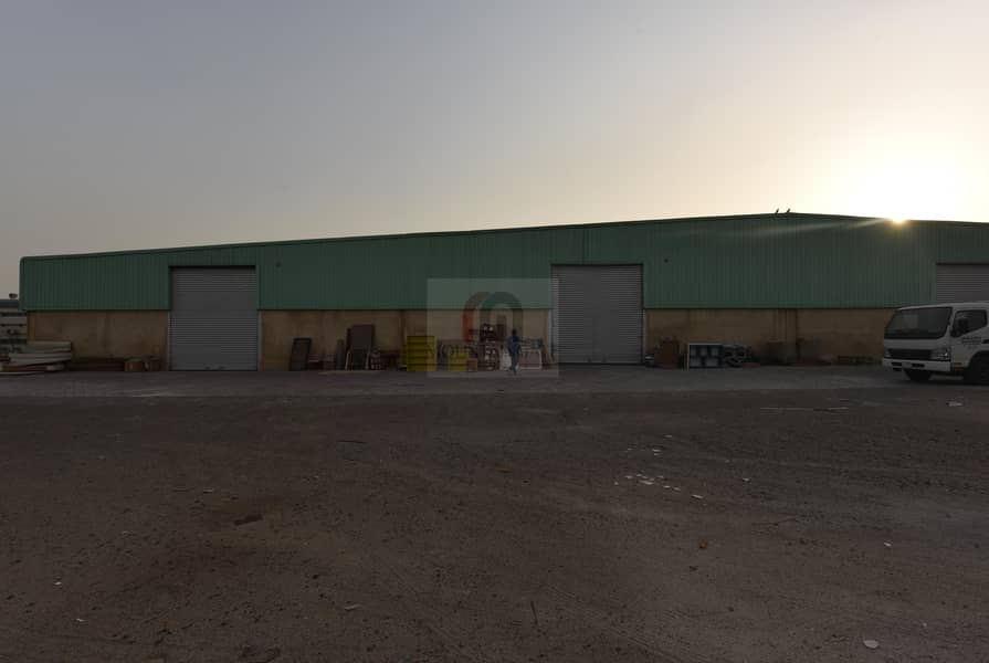 14 Well-Maintained Big Warehouse for sale in Al Quoz