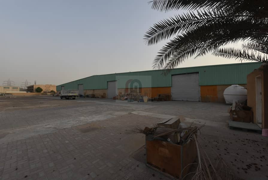 2 Well-Maintained Big Warehouse for sale in Al Quoz