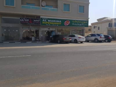 Building for Sale in Al Rawda, Ajman - For sale a new building commercial residential Ajman rented a good income finishing Lux with the possibility of financing