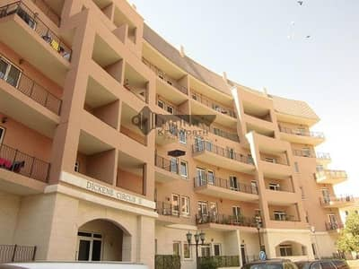3 Bedroom Apartment for Rent in Motor City, Dubai - Dickens Circus - Spacious 3BR + Maid with garden view!