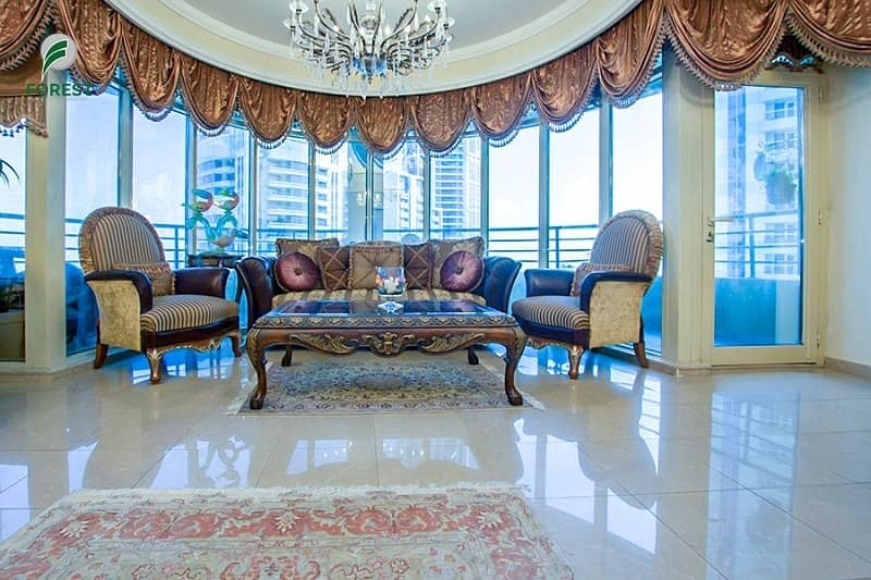 Luxurious and Unique 1 BR with Sea and Marina View