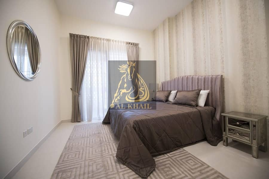 2 Pay 20% and Move in to Elegant Studio Apartment in Mirdif Hills | Prime Location | Accessible Amenities and Facilities