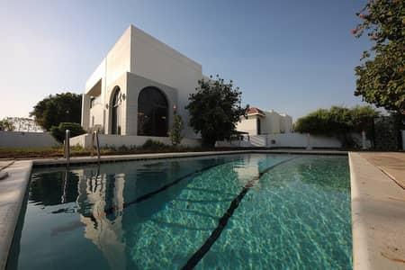 4 Bedroom Villa for Rent in Al Safa, Dubai - Private Pool Green Garden Well Maintained Villa