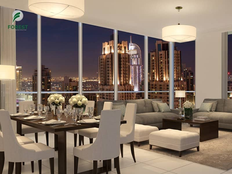 2 Luxury Penthouse with Fountain View in IL Primo