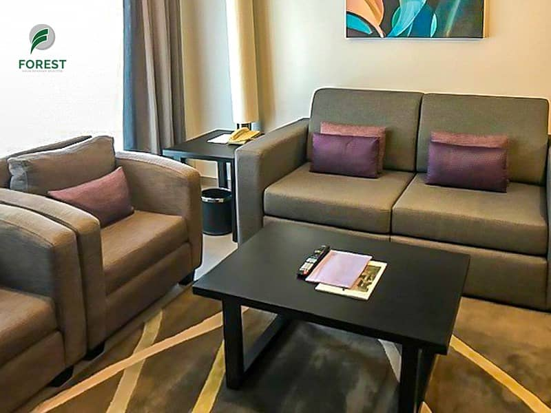 2 Hotel Apartment | Furnished 1 BR | Close to Metro