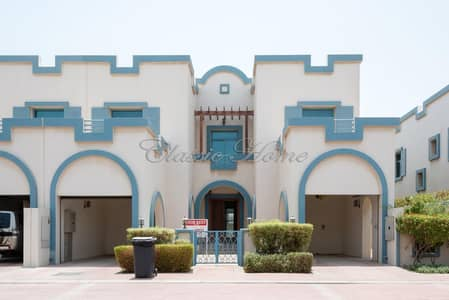 4 Bedroom Villa for Rent in Dubailand, Dubai - 4 B/R + Maid's Room + Driver's Room Townhouse Aegean Style