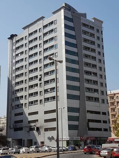 Studio for Rent in King Faisal Street, Ajman - HOT OFFER. STUDIO WITH BALCONY IN KING FAISAL STREET 12000