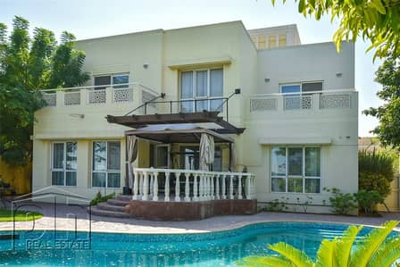 6 Bedroom Villa for Rent in The Meadows, Dubai - Renovated|Drivers Room|Pool|Golf Views