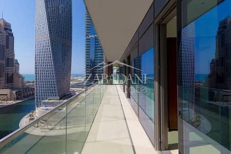 3 Bedroom Apartment for Rent in Dubai Marina, Dubai - FULL MARINA VIEW BEAUTIFUL 3 BED APARTMENT IN MARINA GATE 2