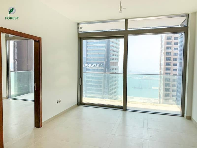 1 Brand New | Bright | Marina and Sea View | 1BR