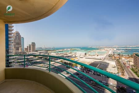 2 Bedroom Apartment for Sale in Dubai Marina, Dubai - Furnished 2 Beds with Sea View | Well Maintained