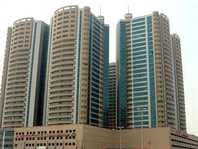 2 Bedroom Flat for Rent in Ajman Downtown, Ajman - HOT OFFER !!Available 2 bhk With Car Parking fully Open View In Horizon Tower.