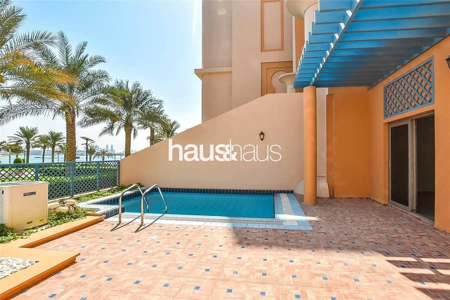 2 Pool facing duplex | 12 cheques | No fees