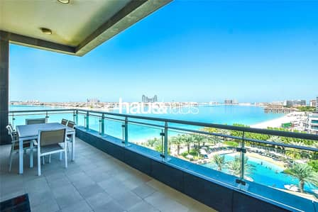 2 Bedroom Apartment for Sale in Palm Jumeirah, Dubai - Vacant | High Floor | High End Furnishings