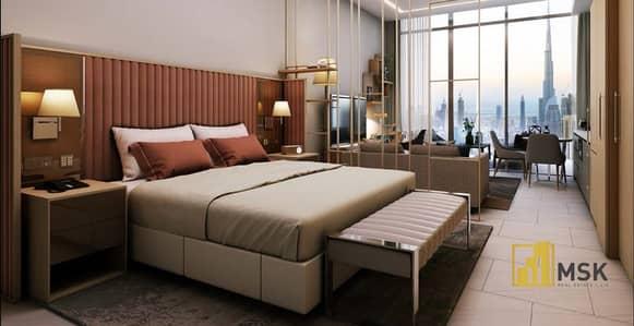 فلیٹ 2 غرفة نوم للبيع في الخليج التجاري، دبي - Burj Khalifa View | 7 years Post Hand Over |Luxury Branded Apartment