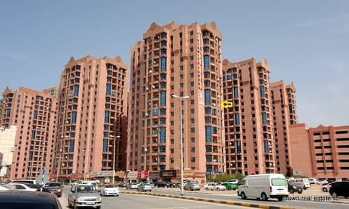 1 Bedroom Flat for Sale in Al Nuaimiya, Ajman - Best Deal!! For Sale -1 Bedroom Hall rented @ 20K at competetive  price 185K in Al Nuamiya Towers