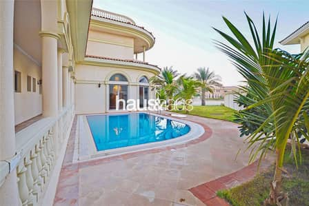 5 Bedroom Villa for Rent in Palm Jumeirah, Dubai - Stunning Fully Furnished Signature Villa