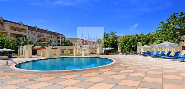 شقة 2 غرفة نوم للايجار في موتور سيتي، دبي - | Pool & Garden view | Perfectly priced 2br available for rent in Dicken circus 2