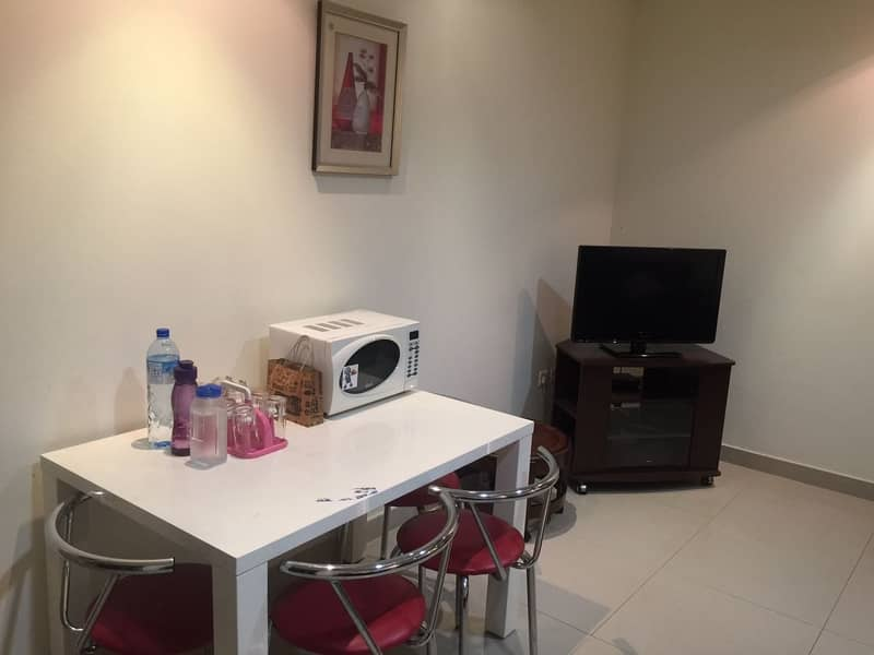 HOT DEAL !!! FULL CITY VIEW FULLY FURNISHED 1 BHK FOR SALE IN CORNICHE TOWER 340 K NET