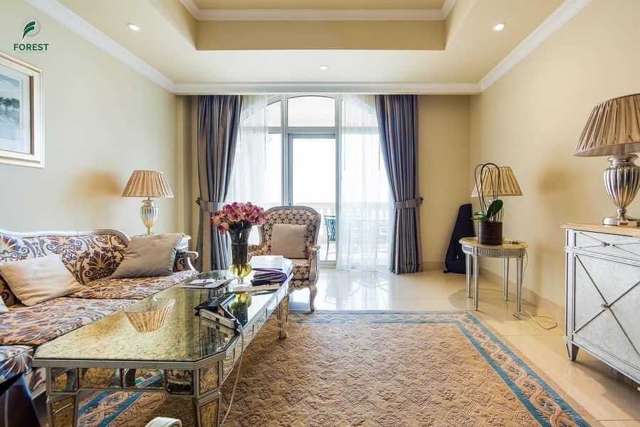 Amazing Full Sea View | Fully Furnished | 2BR