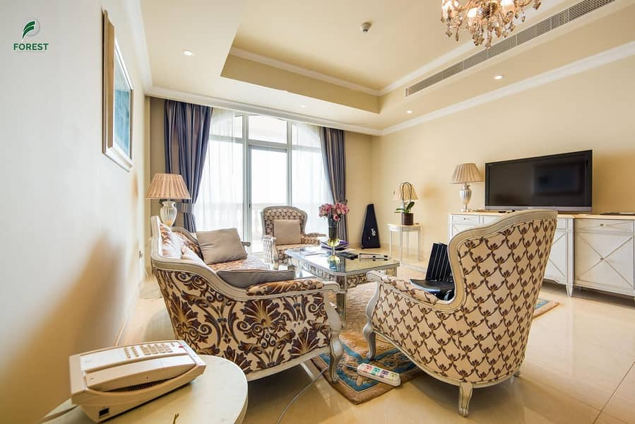 2 Amazing Full Sea View | Fully Furnished | 2BR