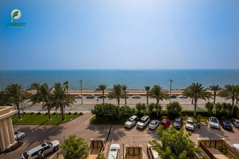 10 Amazing Full Sea View | Fully Furnished | 2BR