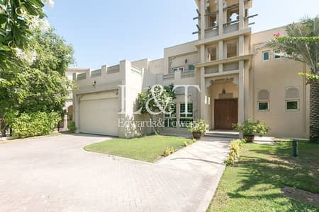 4 Bedroom Villa for Sale in Jumeirah Islands, Dubai - Best Priced Entertainment Foyer|Greenery View