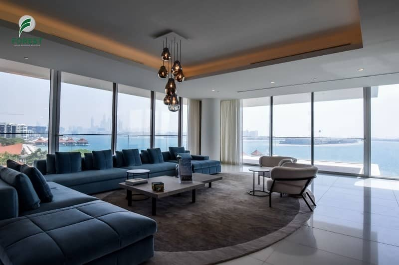 Elegant Penthouse with Full Sea View   Vacant