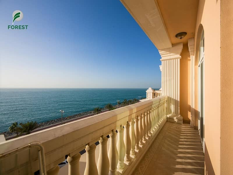 1 Luxurious 3 Beds with Amazing Full Sea View
