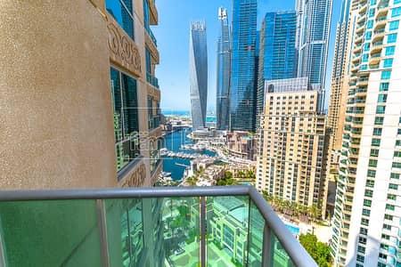 4 Bedroom Flat for Rent in Dubai Marina, Dubai - High floor huge 4 BR overlooking Marina