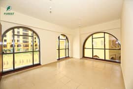 Exclusive |Spacious Interior |2 Beds | Unfurnished