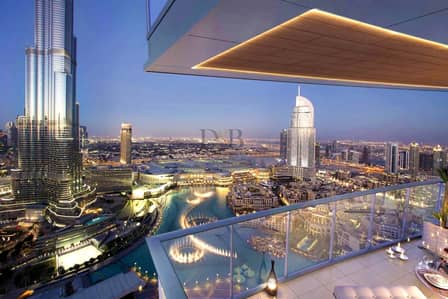 شقة 2 غرفة نوم للبيع في وسط مدينة دبي، دبي - GET EMAAR SIGNATURE CARD | PAY 25% AND MOVE IN