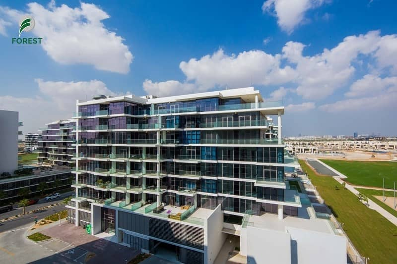 Brand New    Spacious 1 BR with Community View