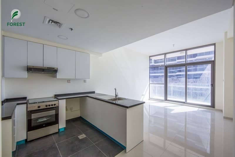 2 Brand New    Spacious 1 BR with Community View