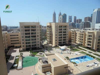 2 Bedroom Apartment for Sale in The Greens, Dubai - Exclusive | Pool View | Unique 2BR + Study