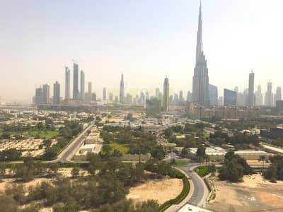 شقة 3 غرف نوم للايجار في مركز دبي المالي العالمي، دبي - Peaceful Za'abeel views - spacious apartment