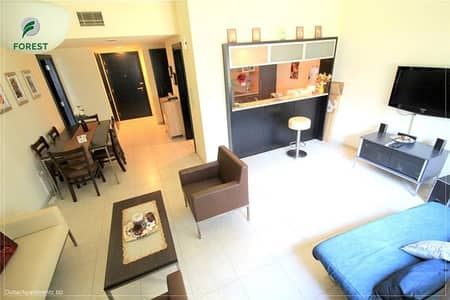1 Bedroom Apartment for Sale in Dubai Marina, Dubai - Large size unit | Community view | Vacant | 1BR