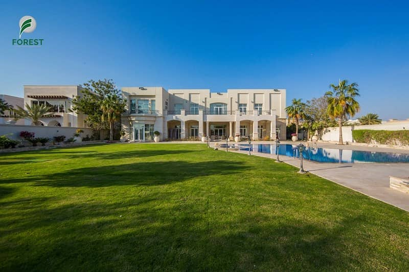 Classic 7 Bedroom Mansion with Golf Course View