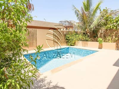 4 Bedroom Villa for Sale in Al Raha Golf Gardens, Abu Dhabi - Hot deal! 4BR villa with Private Pool in  Golf Gardens